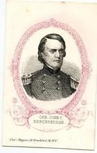 09x078.5 - General John C. Breckenridge C. S. A., Civil War Portraits from Winterthur's Magnus Collection